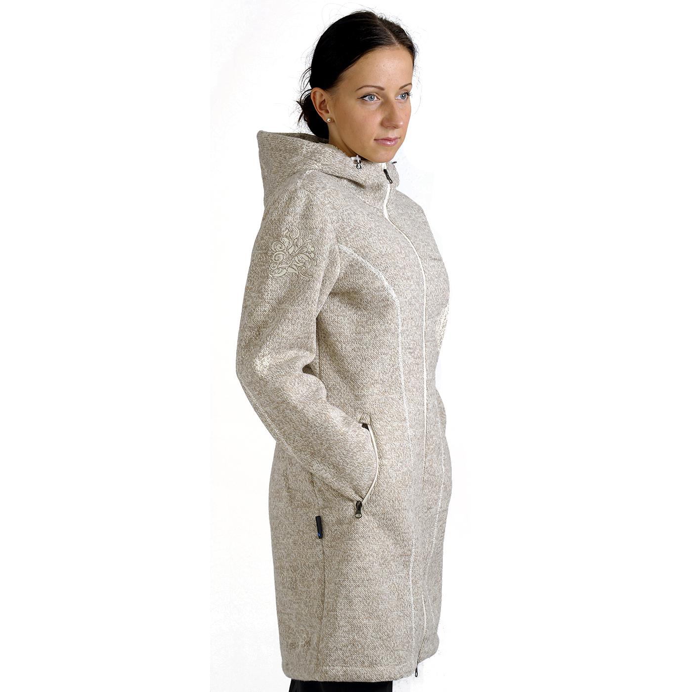 Benesport dámska bunda Pipitka - sivá, veľkosť XS