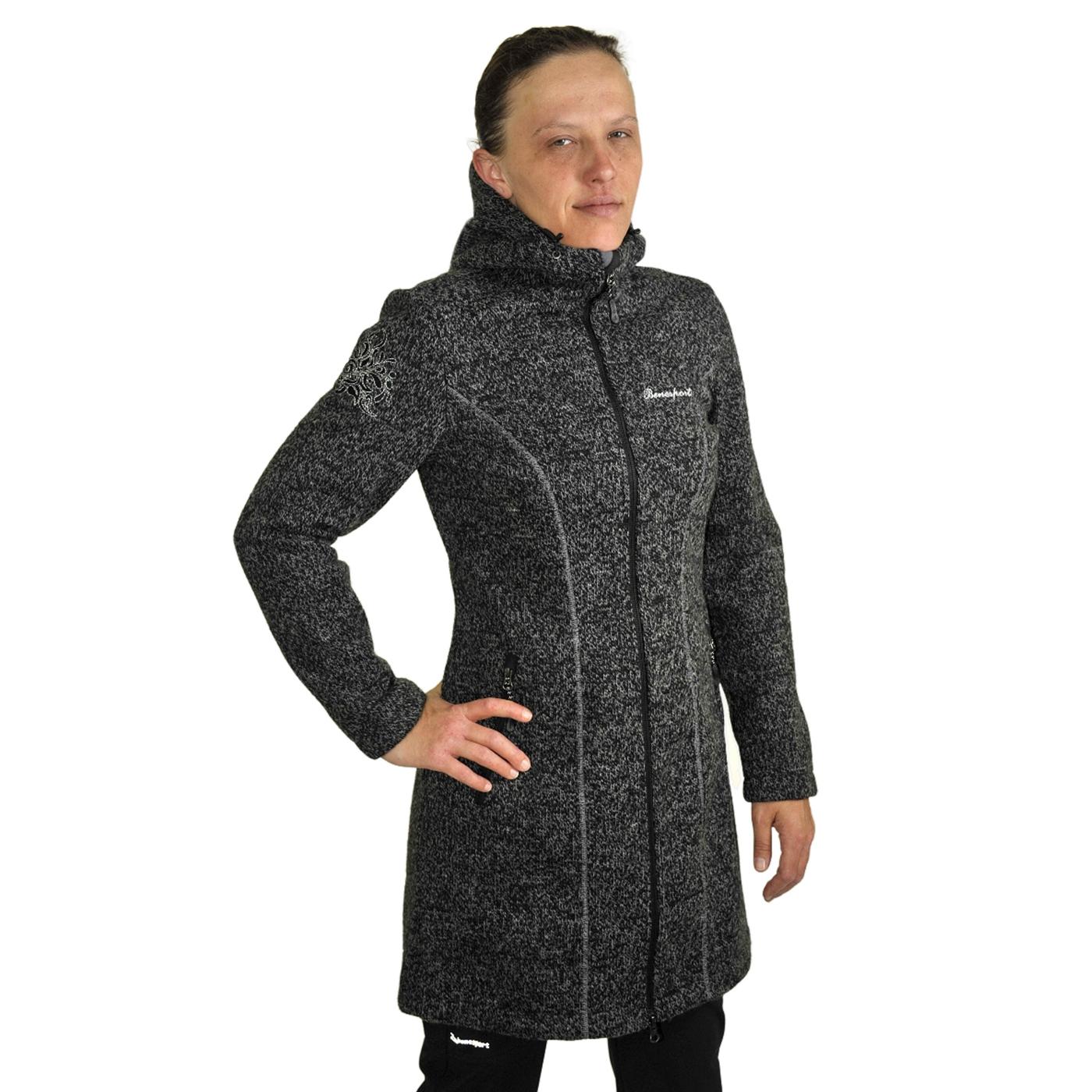 Benesport dámska bunda Pekelník - čierna, veľkosť S