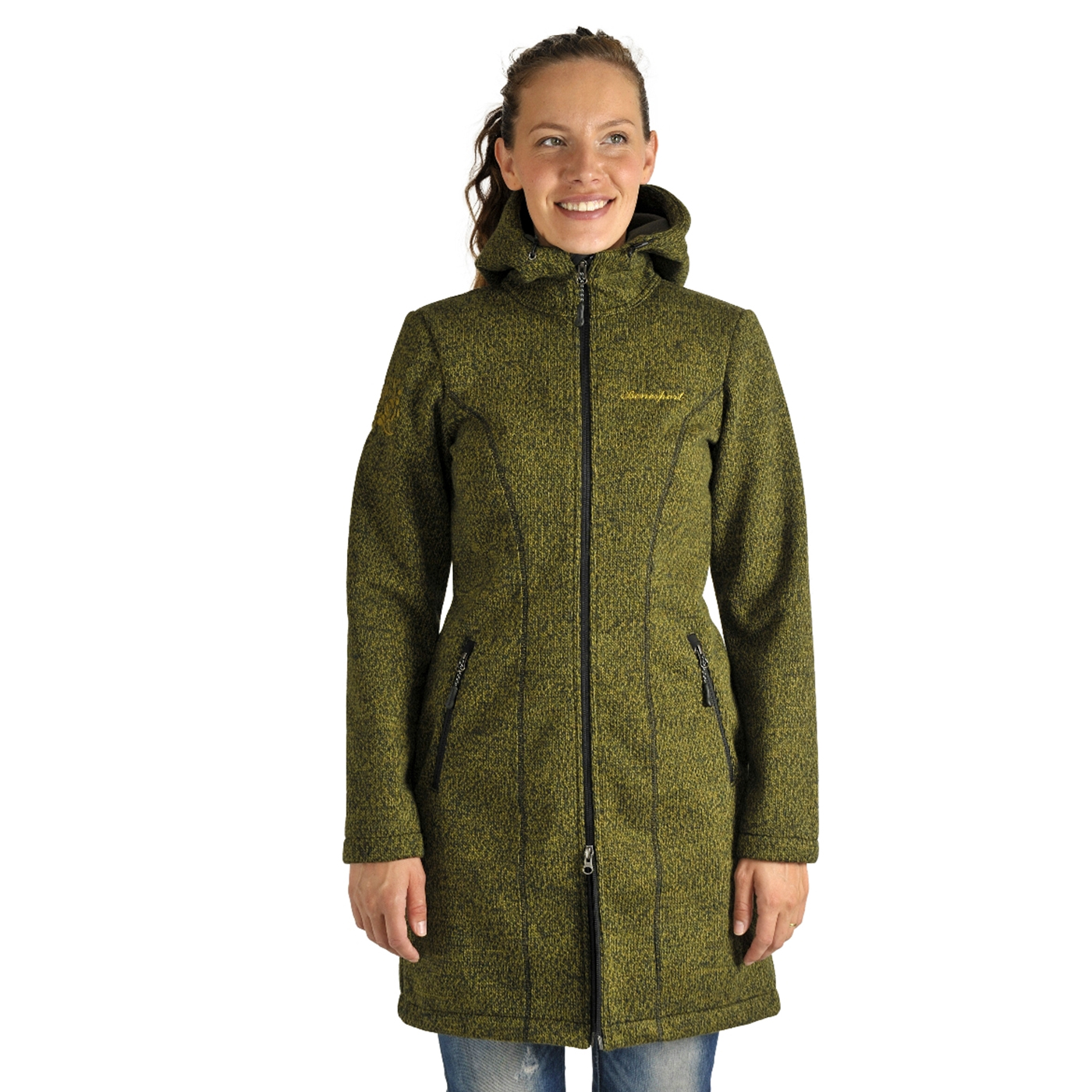 Benesport dámska bunda Pekelník - zelená, veľkosť S