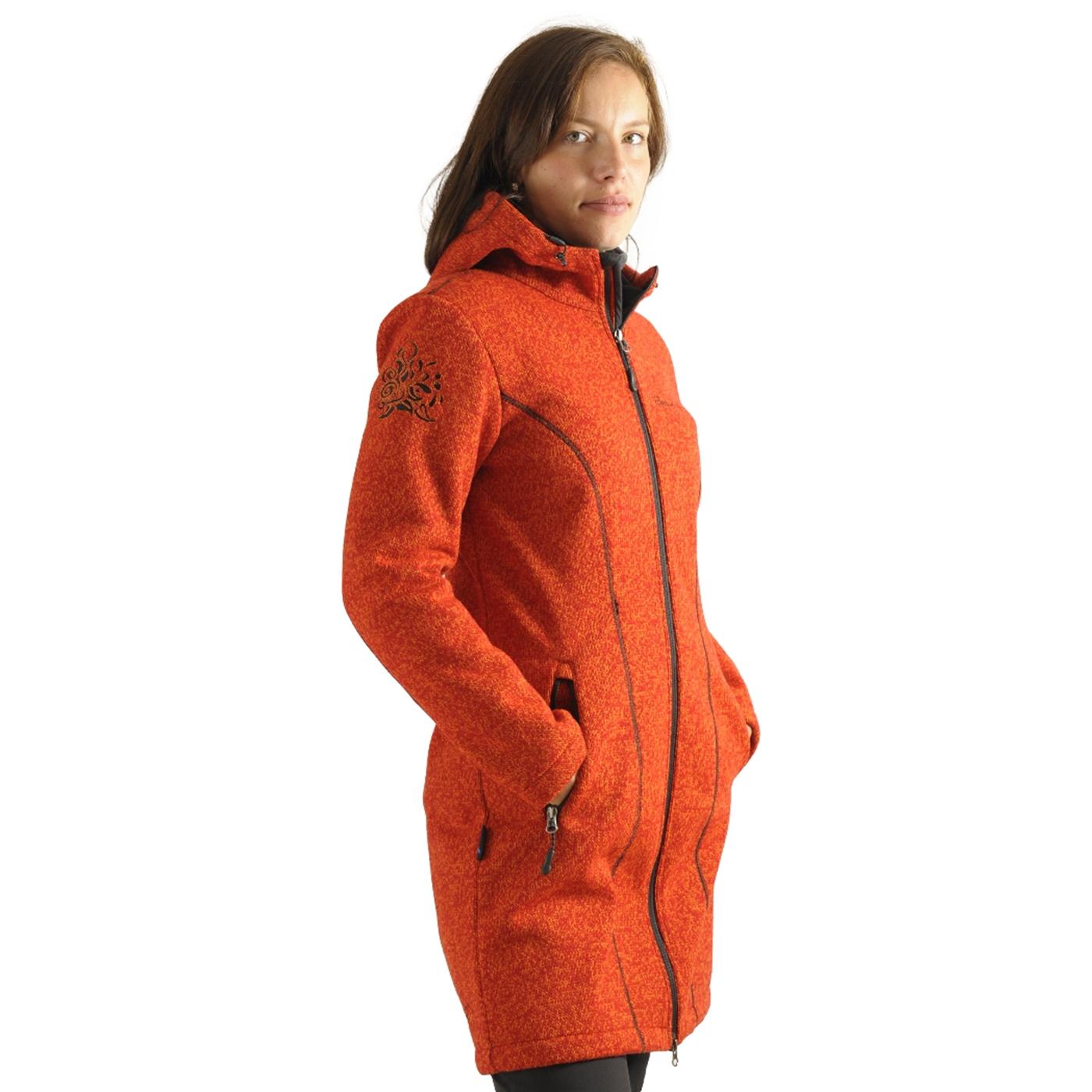Benesport dámska bunda Pekelník - oranžová, veľkosť XL