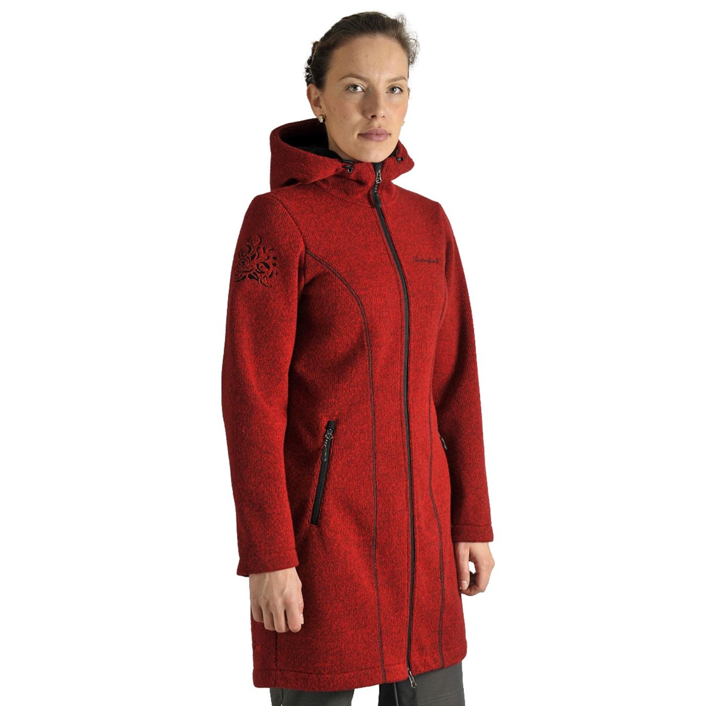 Benesport dámska bunda Pekelník - červená, veľkosť M