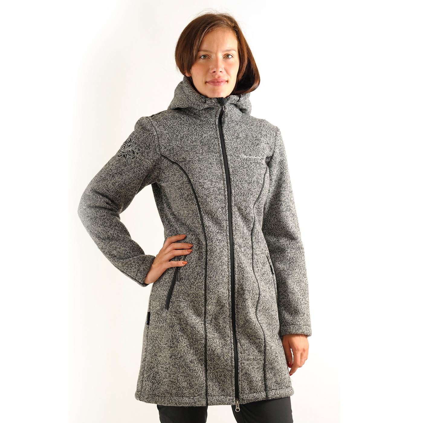Benesport dámska bunda Pipitka - čierna, veľkosť XL