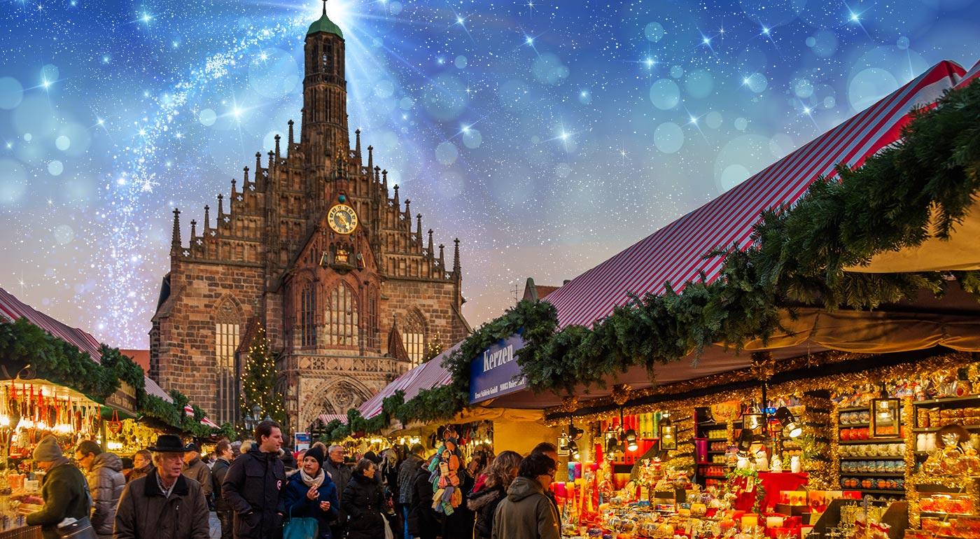 Adventný Norimberg: Navštívte najkrajšie trhy v Nemecku a mesto Vianoc Rothenburg počas 2-dňového zájazdu