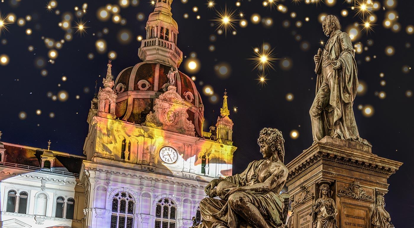 Fotka zľavy: Ľadový betlehem, vianočné trhy a magická atmosféra. To všetko vás čaká na 1-dňovom zájazde do Rakúska. Spoznajte mestečko Graz a poriadne sa vianočne nalaďte.