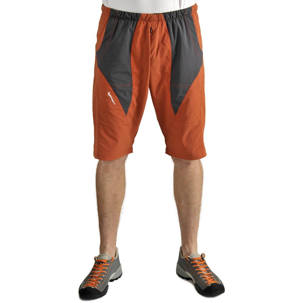 Benesport pánske nohavice Blyšť - tehlové, veľkosť M