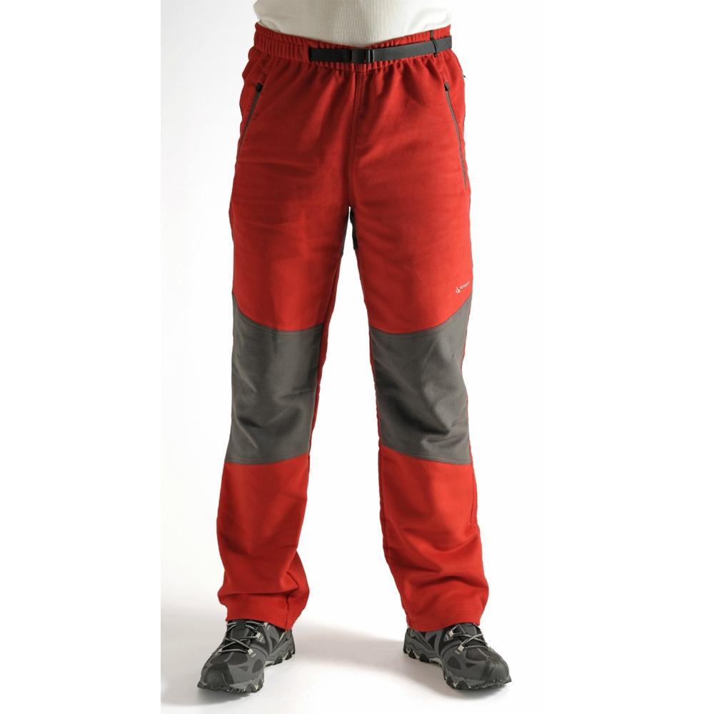 Benesport pánske nohavice Brodok - červené, veľkosť M