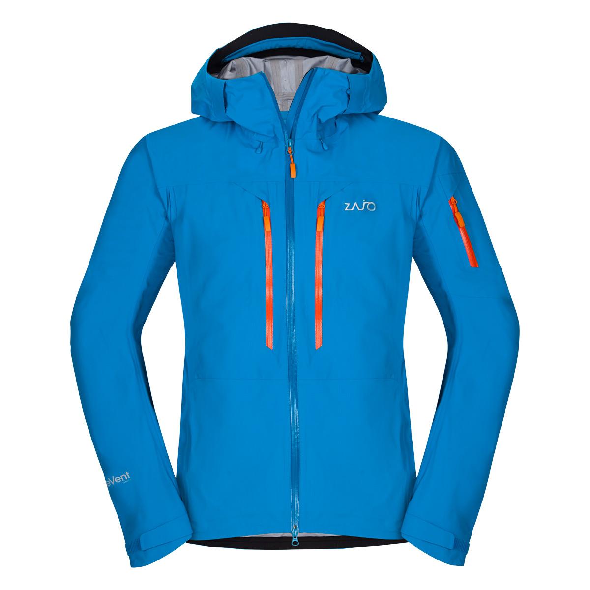 Pánska bunda Zajo Reykjavik Neo JKT Blue Jewel - veľkosť L