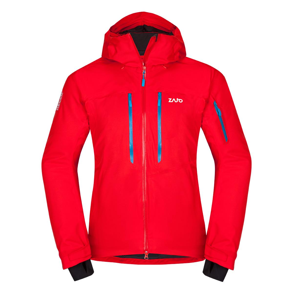 Pánska bunda Zajo Nuuk Neo JKT Fiery Red - veľkosť XS