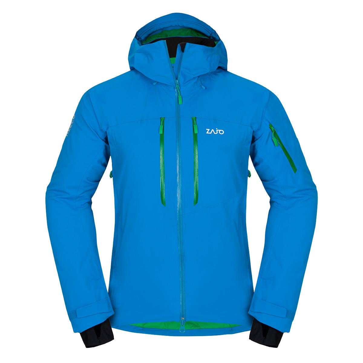 Pánska bunda Zajo Nuuk Neo JKT Blue Jewel - veľkosť L