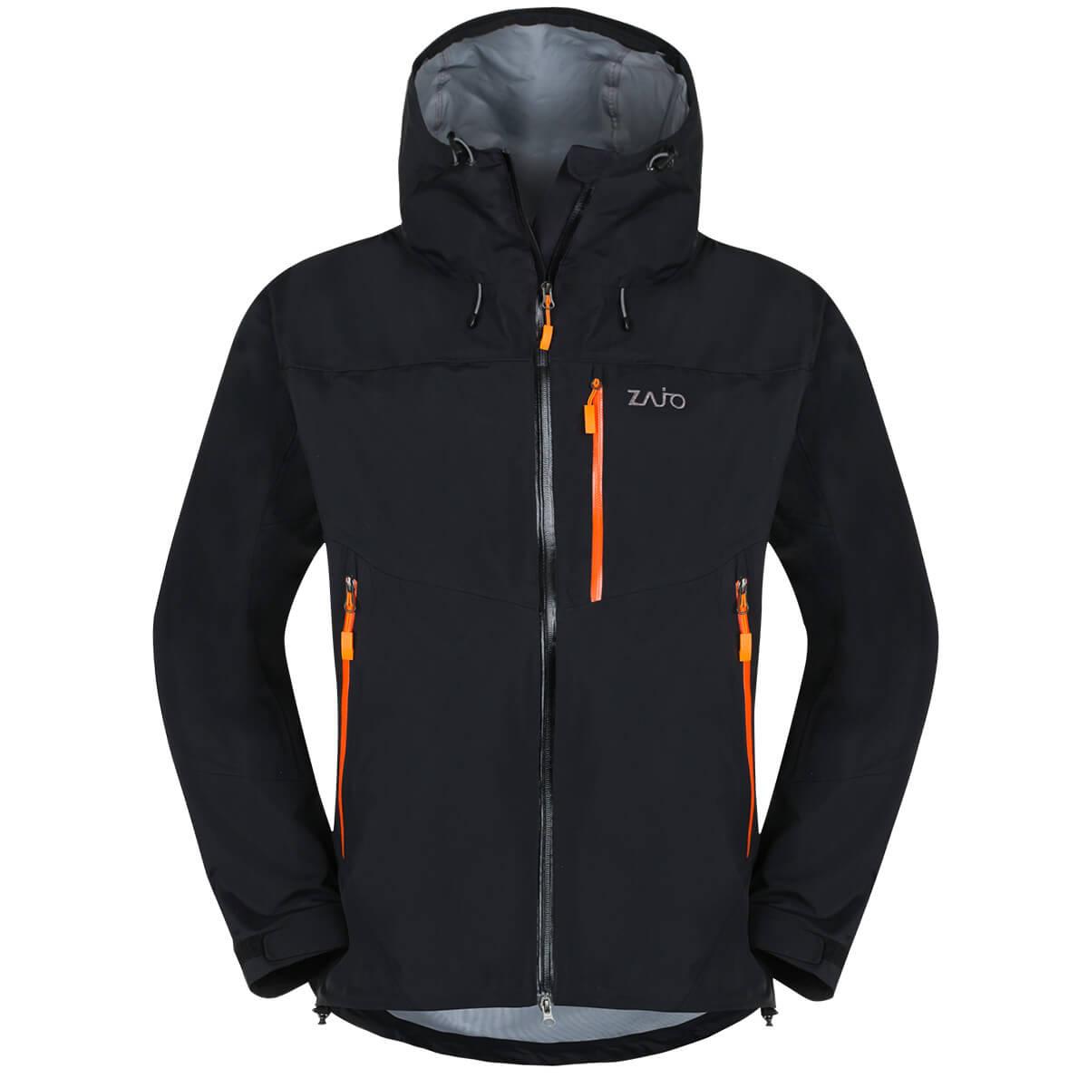 Pánska bunda Zajo Garmish JKT Black - veľkosť XS