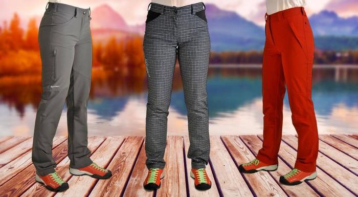 Fotka zľavy: Kvalitné turistické nohavice sú zárukou kvalitného turistického zážitku. Dámske nohavice Benesport majú slovenský pôvod, príjemný materiál a pohodlný strih. Užite si turistiku s Benesportom.