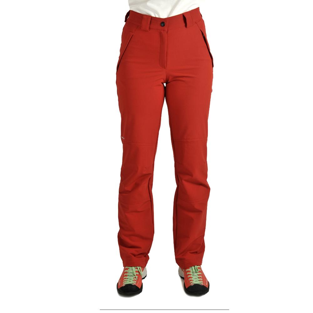 Benesport dámske nohavice Geravy - červené, veľkosť XL