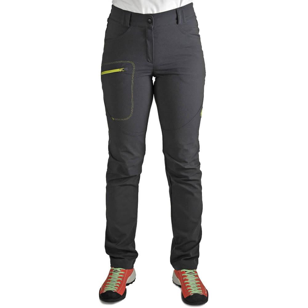 Benesport dámske nohavice Rysy - antracitové, veľkosť XS