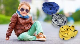 Zľava 50%: Pred chladom sa chránime všelijako. Kvalitný bavlnený nákrčník je najlepší spôsob zahriatia vonku pre malých aj veľkých. Postarajte sa o to, aby bolo vaše dieťa vždy v teple už dnes!