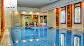 Zľava 12%: Luxusný Lion´s Garden Hotel**** v centre Budapešti je to pravé miesto na oddych, ale aj romantiku. 3-dňový pobyt máte aj so vstupom do wellness a s raňajkami.