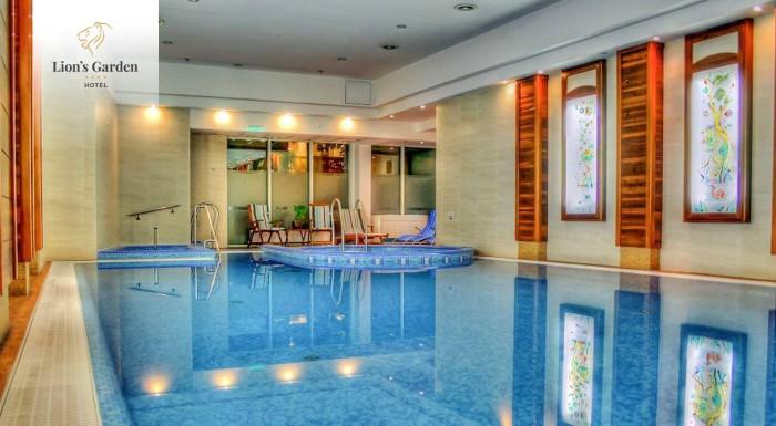 Fotka zľavy: Luxusný Lion´s Garden Hotel**** v centre Budapešti je to pravé miesto na oddych, ale aj romantiku. 3-dňový pobyt máte aj so vstupom do wellness a s raňajkami.