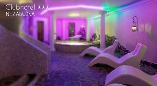 Zľava 59%: Clubhotel*** Nezábudka vo Vysokých Tatrách je tým pravým miestom na oddych. Príďte si vychutnať čerstvý vzduch, parádny výhľad a wellness procedúry od výmyslu sveta.
