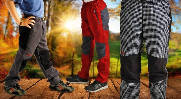 Fotka zľavy: Deti potrebujú pri turistike kvalitné oblečenie ešte viac ako dospelí. Zakúpte svojim malým turistom športové nohavice Benesport, ktoré ich ochránia a zahrejú aj v chladnom počasí.