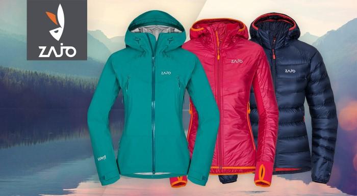 Fotka zľavy: Presvedčte sa, že aj zimná bunda vie byť štýlová. Dámske vetrovky ZAJO na jeseň, či profi kúsky na lyžovačku a turistickú expedíciu.