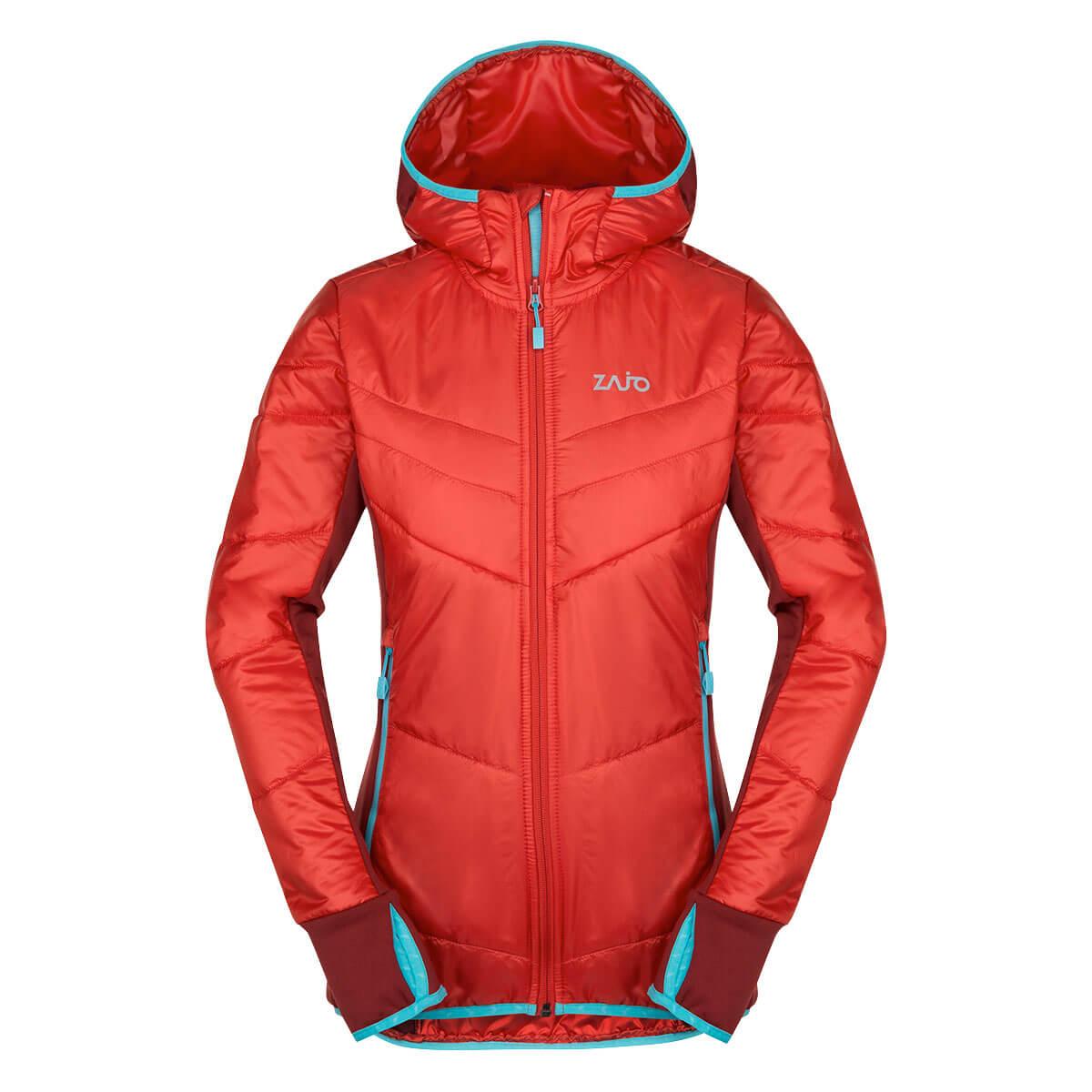 Dámska bunda Zajo Rossa W JKT Red - veľkosť M