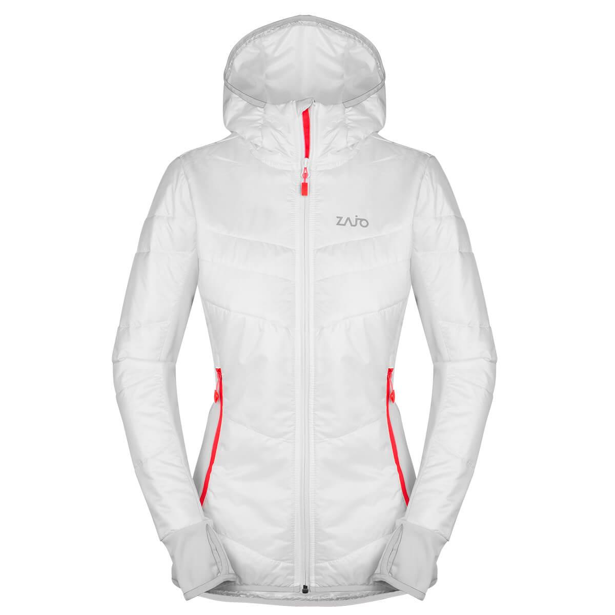 Dámska bunda Zajo Rossa W JKT White - veľkosť XS
