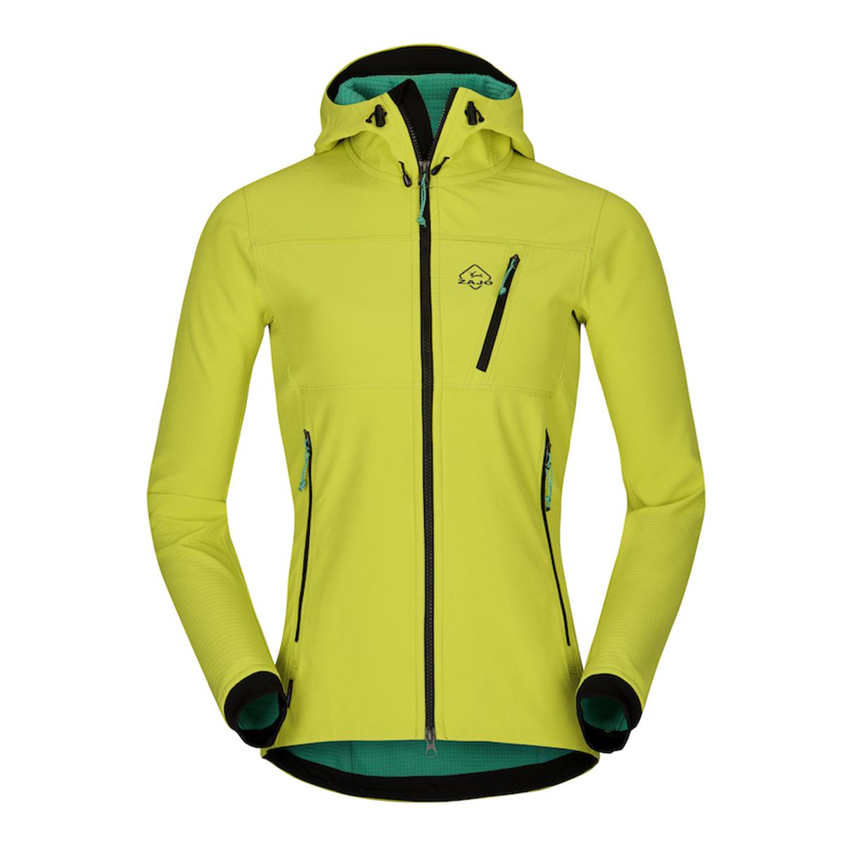 Dámska bunda Zajo Volcano Tech Lady JKT Green Lime - veľkosť XS