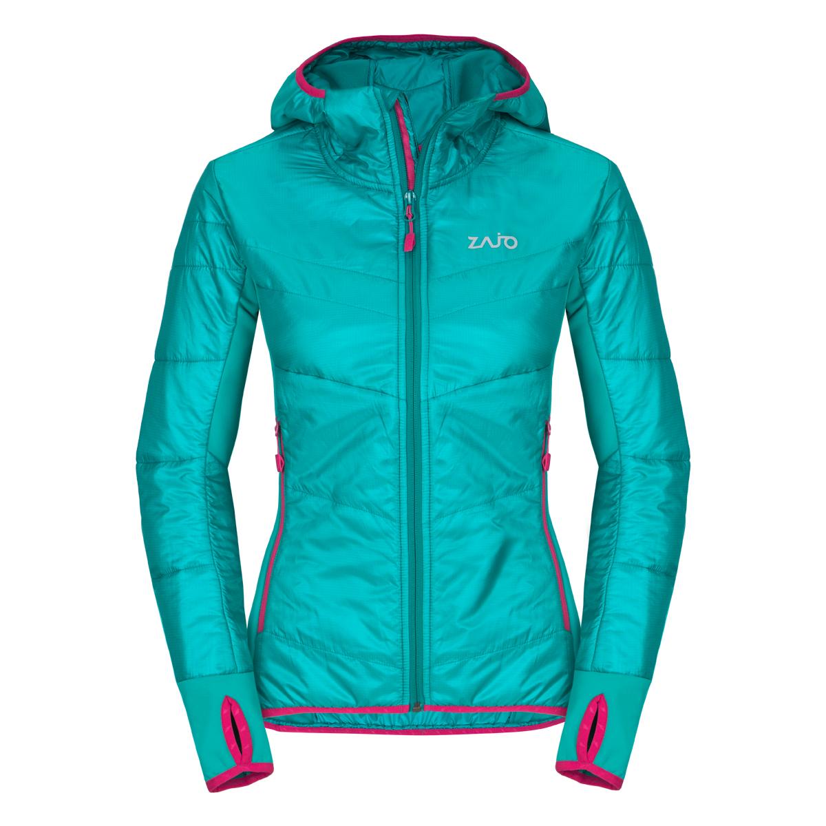 Dámska bunda Zajo Rossa W JKT Spectra Green - veľkosť XS