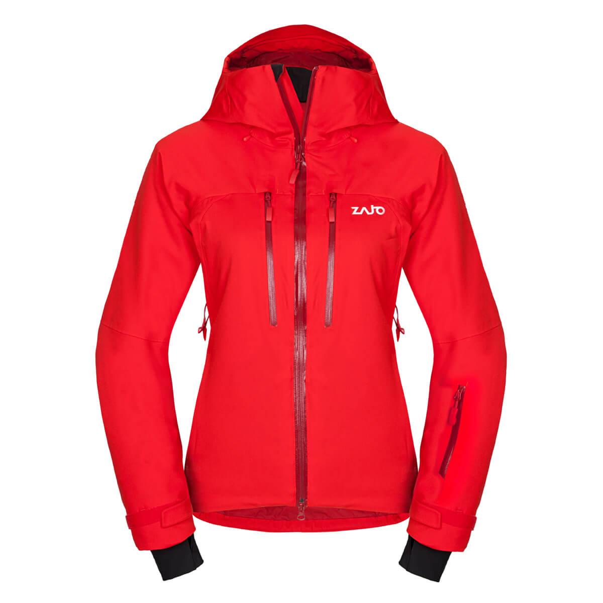 Dámska bunda Zajo Nuuk Neo W JKT Fiery Red - veľkosť M