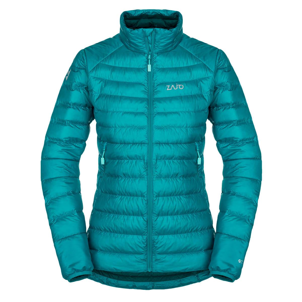 Dámska bunda Zajo Livigno W NH JKT Enamel Blue - veľkosť XS