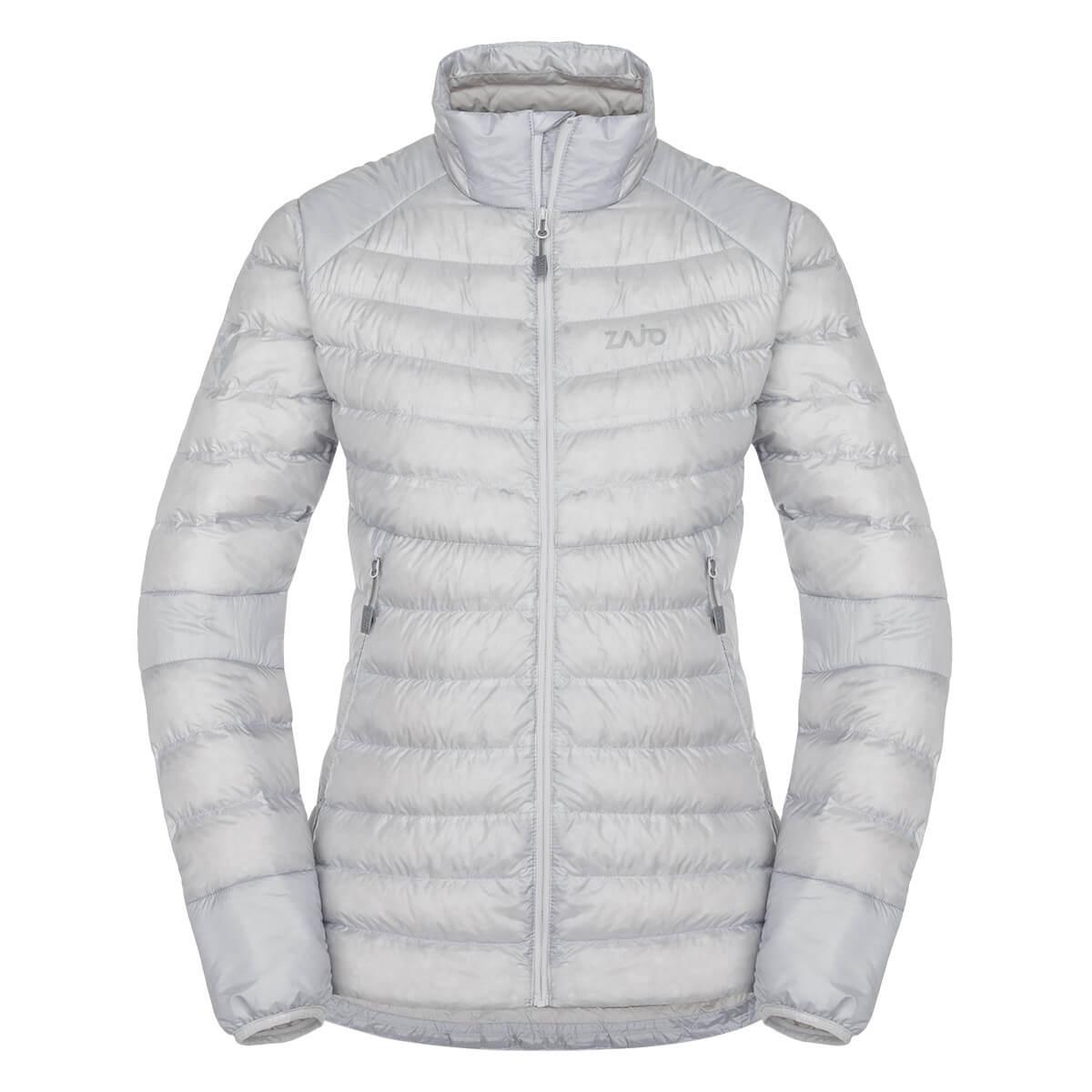 Dámska bunda Zajo Livigno W NH JKT Glacier Gray - veľkosť XS