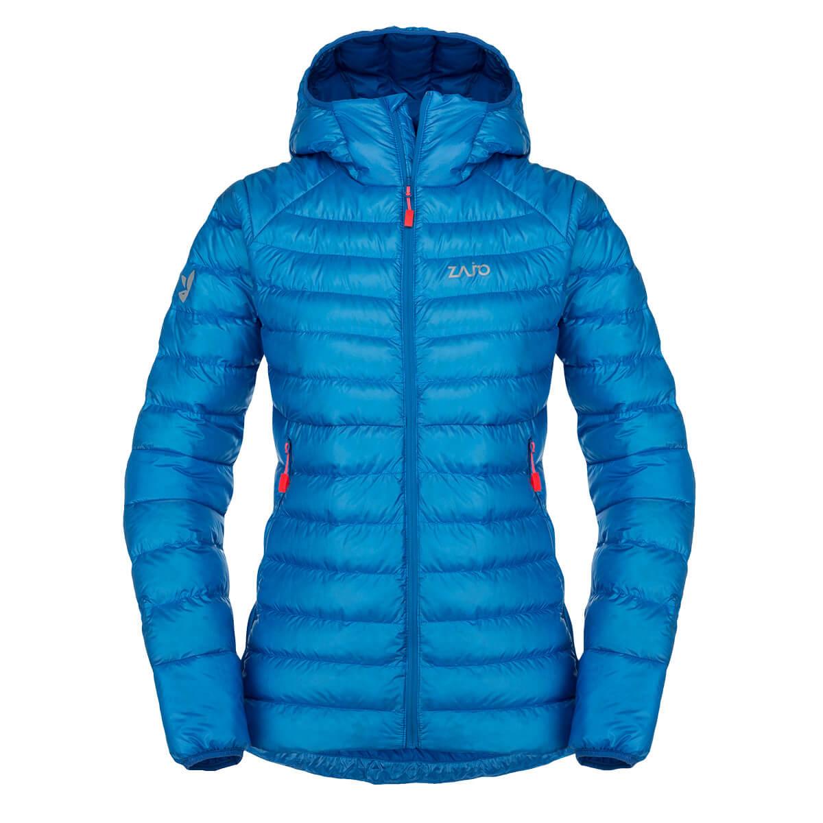 Dámska bunda Zajo Livigno W JKT Greek Blue - veľkosť XS