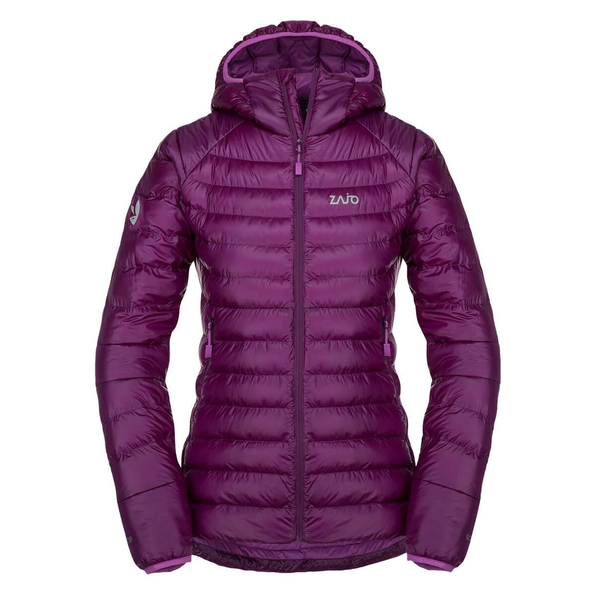 Dámska bunda Zajo Livigno W JKT Dark Purple - veľkosť XS