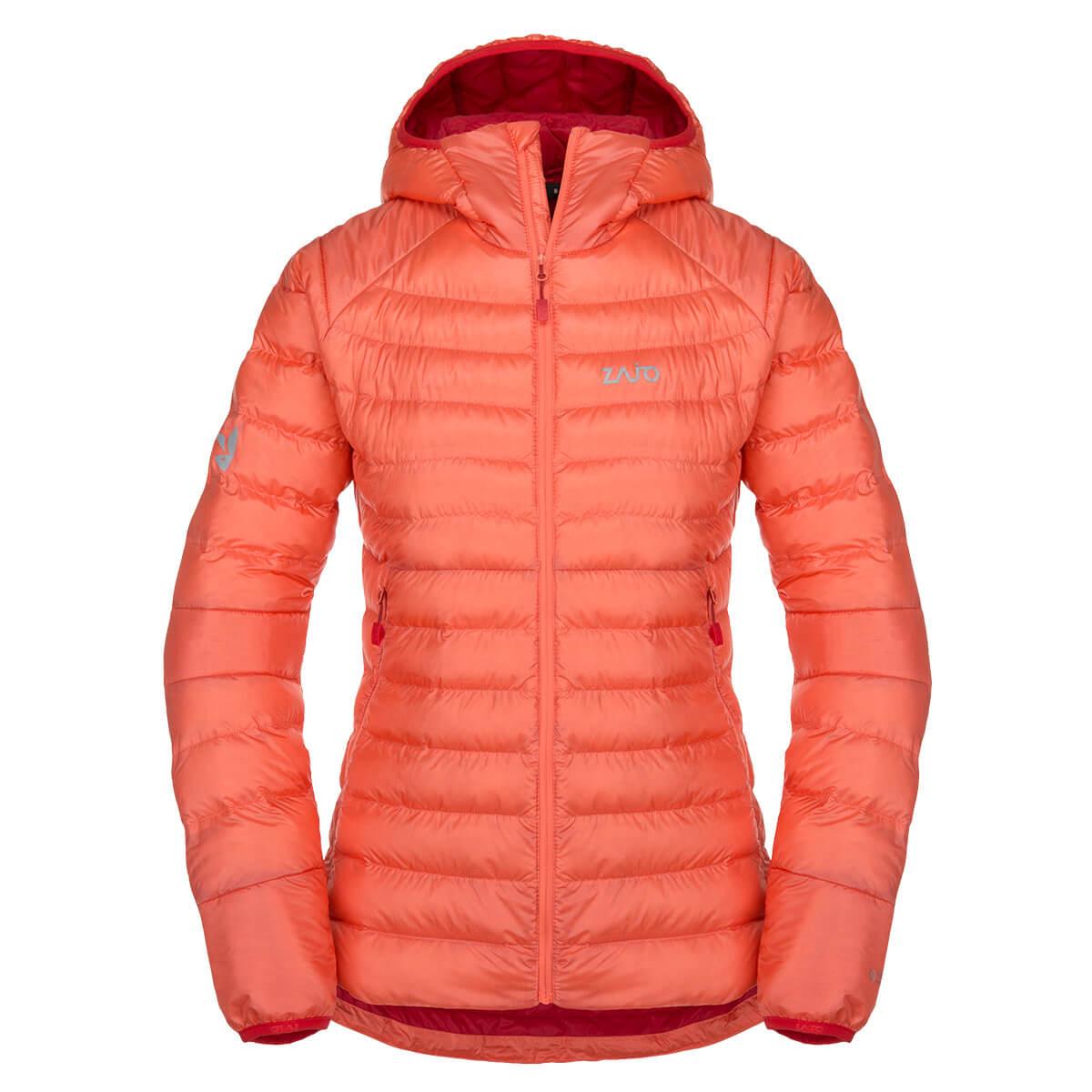 Dámska bunda Zajo Livigno W JKT Rose Orange - veľkosť XS