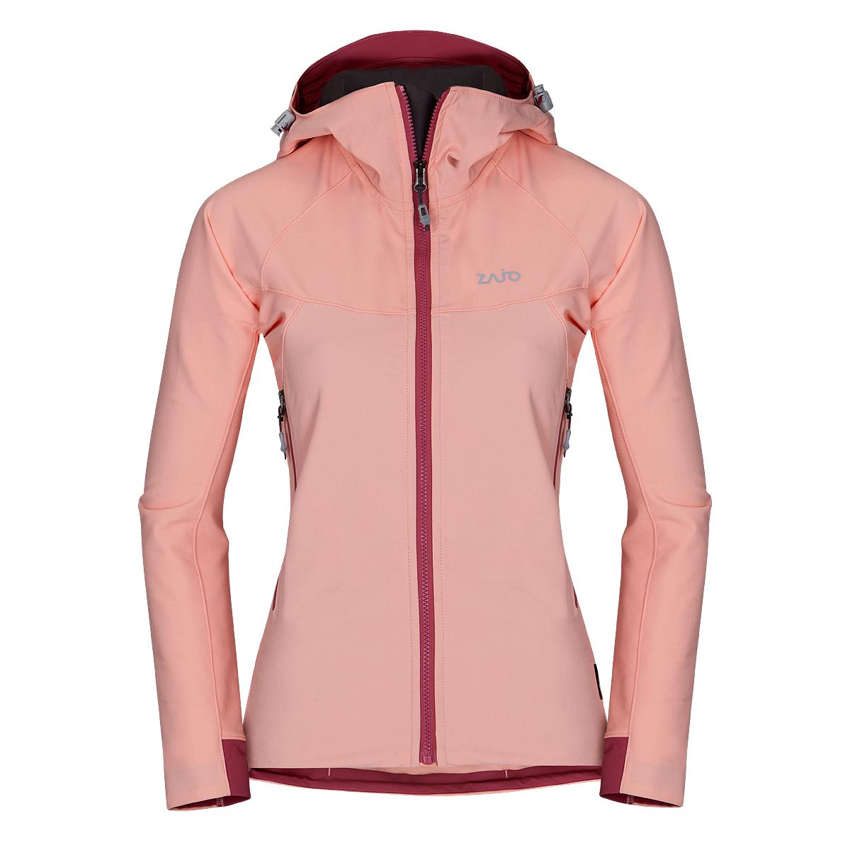 Dámska bunda Zajo Air LT Hoody W JKT Seashell Pink - veľkosť S