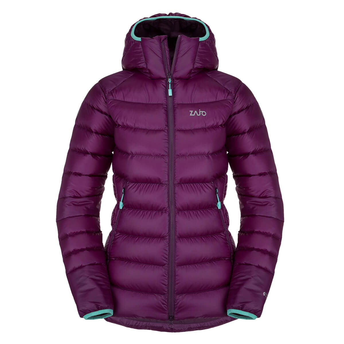 Dámska bunda Zajo Valbella W JKT Dark Purple - veľkosť XS