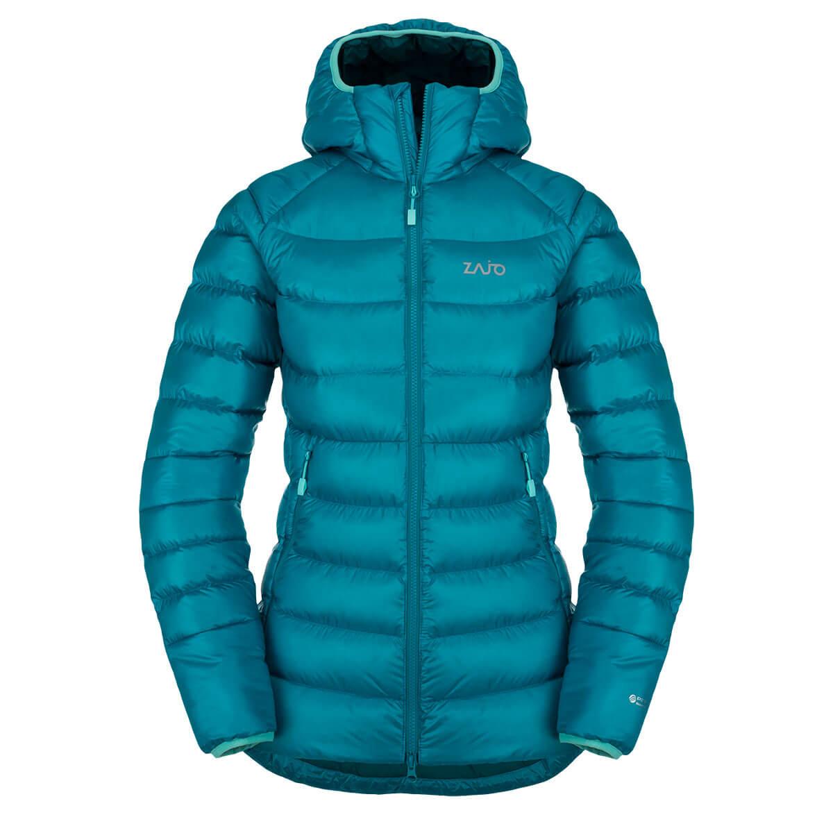 Zajo Dámska bunda Valbella W JKT Enamel Blue - veľkosť XS