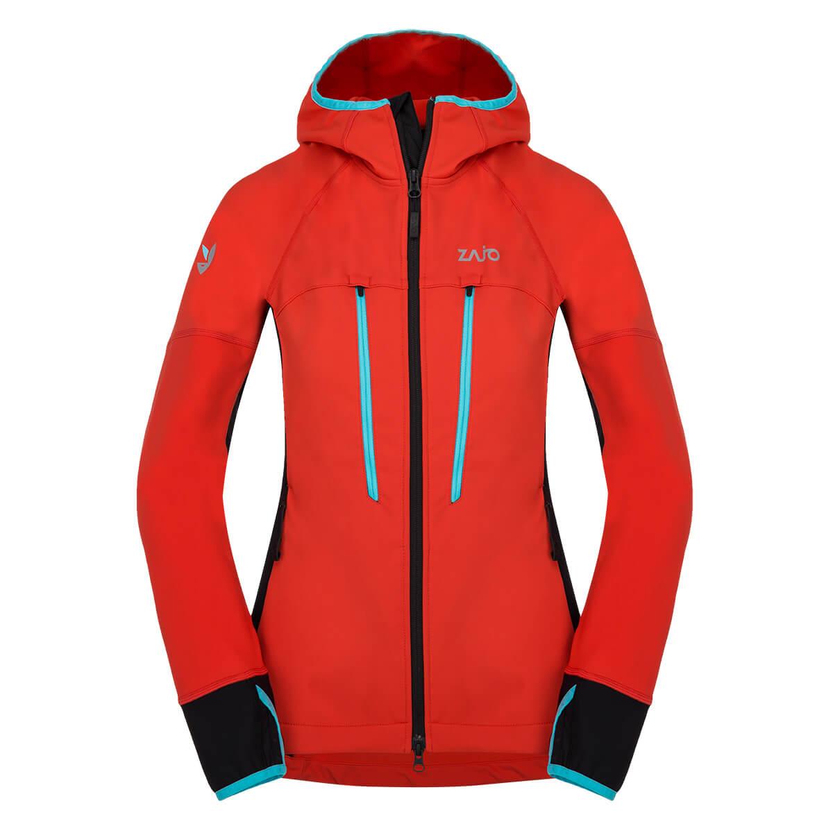 Dámska bunda Zajo Ramsau W JKT Red - veľkosť XS