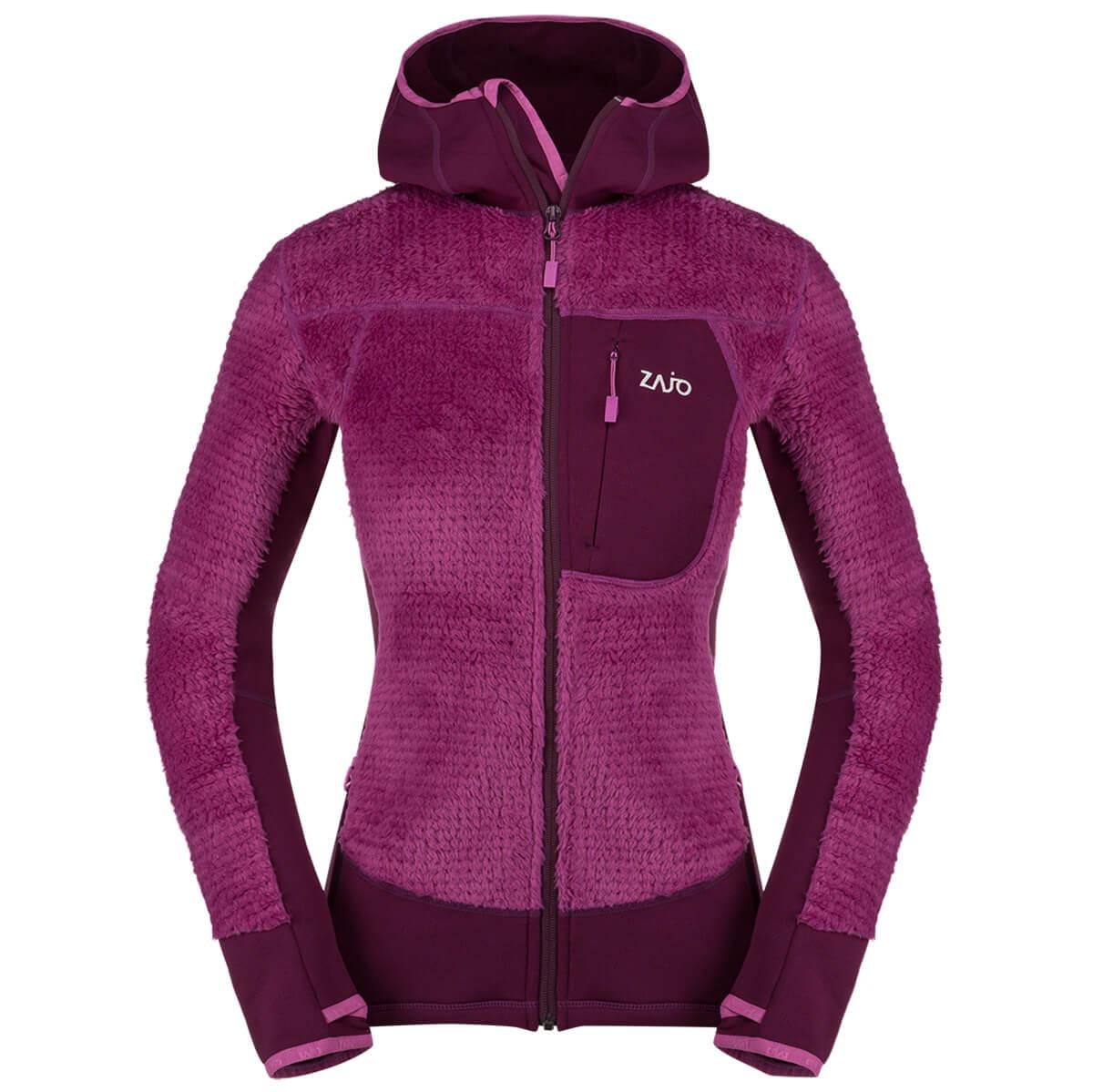 Dámska bunda Zajo Andorra W JKT Dark Purple - veľkosť XS