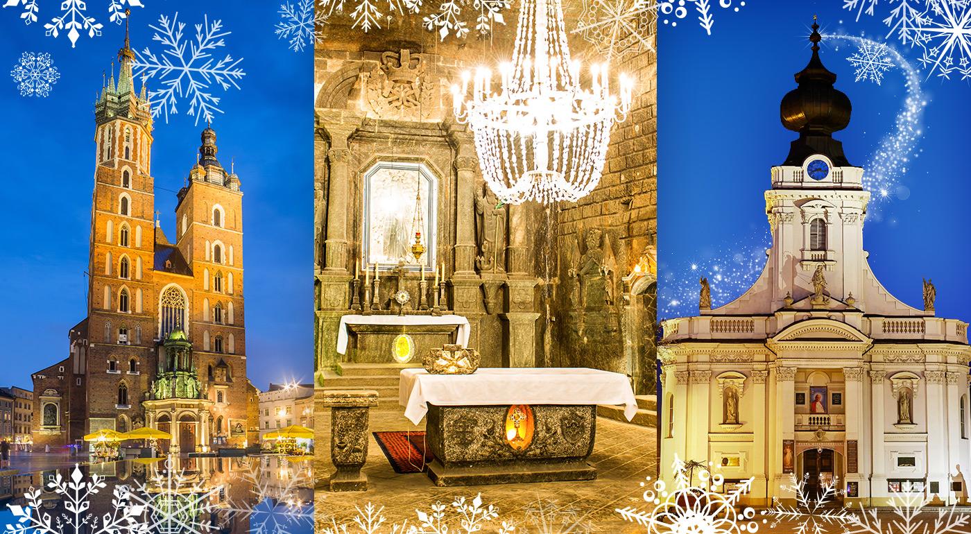 Fotka zľavy: Objavte spolu s CK Belmare Poľsko z iného uhla. So skúseným sprievodcom navštívte Krakow s vianočnými trhmi, rodné mesto Jána Pavla II. a unikátnu soľnú baňu vo Wieliczke.