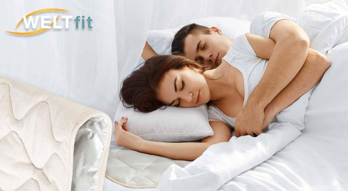 Fotka zľavy: Hrejivá podložka na posteľ je nielen praktická, ale aj hebká na dotyk a príjemne teplá. Slúži tiež ako chránič matraca, zlepšuje spánok a posilňuje imunitu počas spánku.