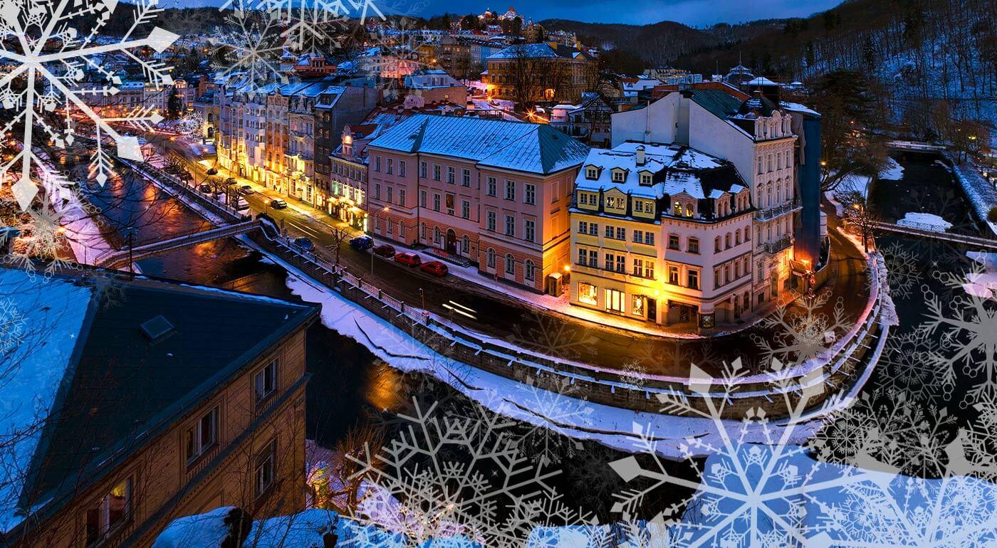 Fotka zľavy: Vianočný dom, múzeum Becherovky, adventné trhy a skláreň na výrobu krištáľu. To všetko a ešte viac vás čaká na 2-dňovom zájazde do Karlových Varov v Česku. Príďte si užiť predvianočný čas k susedom!