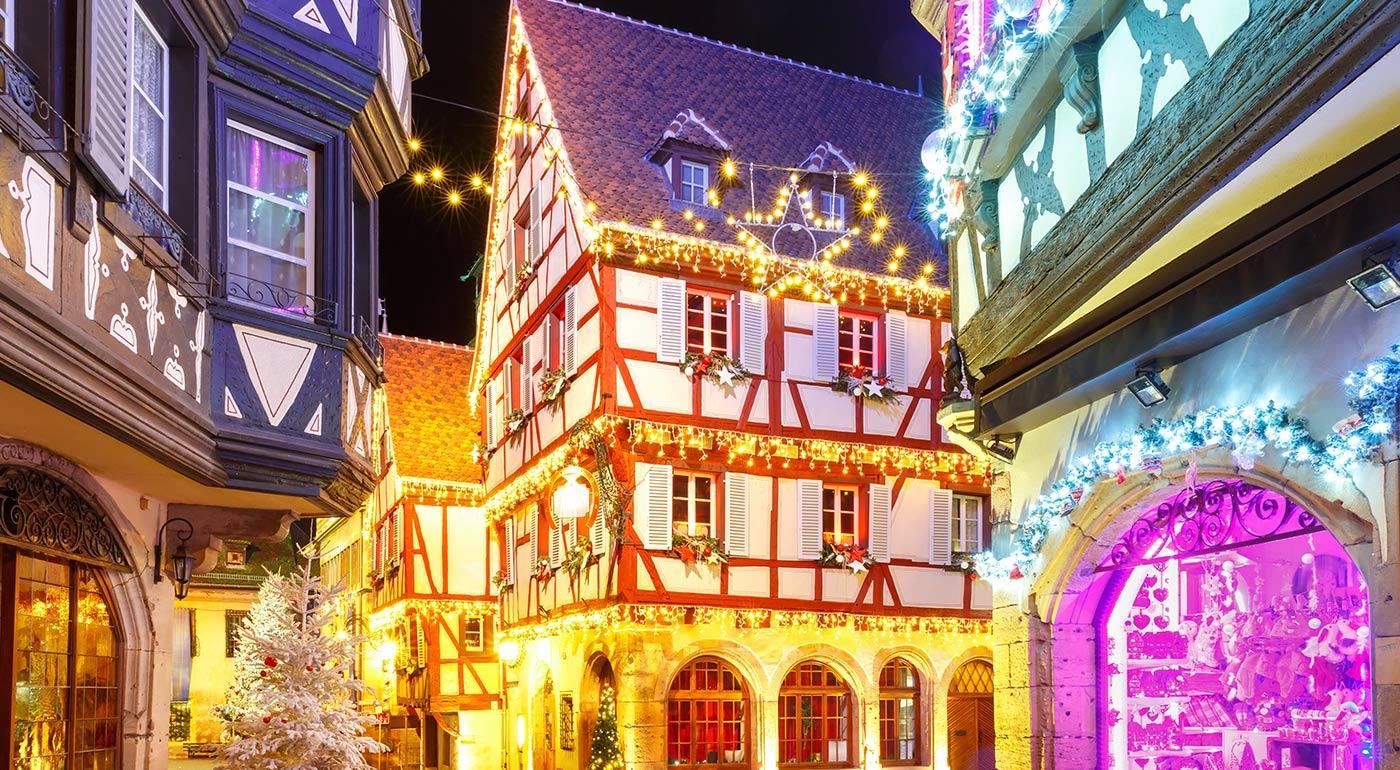4-dňový zájazd Adventné Alsasko: vianočné trhy pri štrasburskom Notre-Dame, návšteva vinárskej dedinky Riquewihr a rozprávkového mestečka Colmar