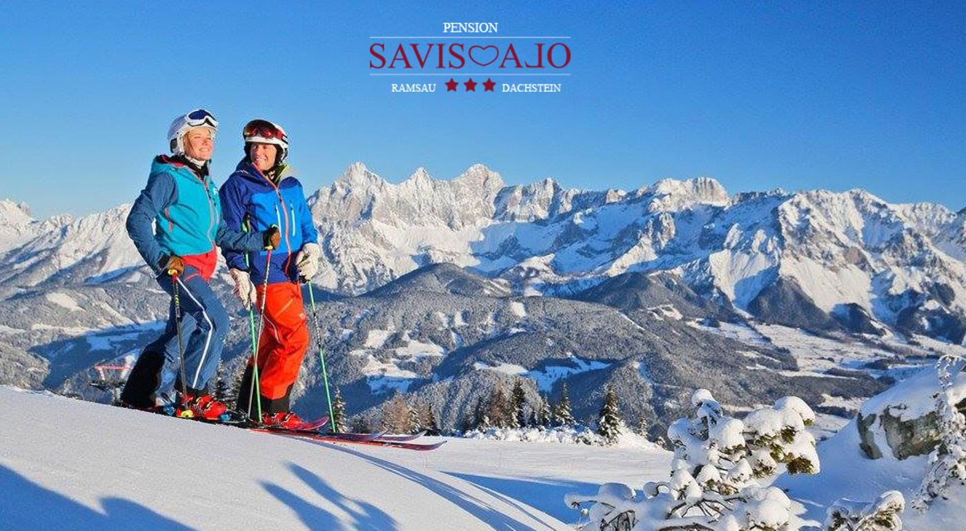 Rakúske Alpy: Zimná dovolenka v českom penzióne Savisalo*** s raňajkami a neobmedzeným vstupom do sauny