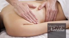 Relaxačná masáž celého tela s nahriatym kokosovým olejom v salóne Natália