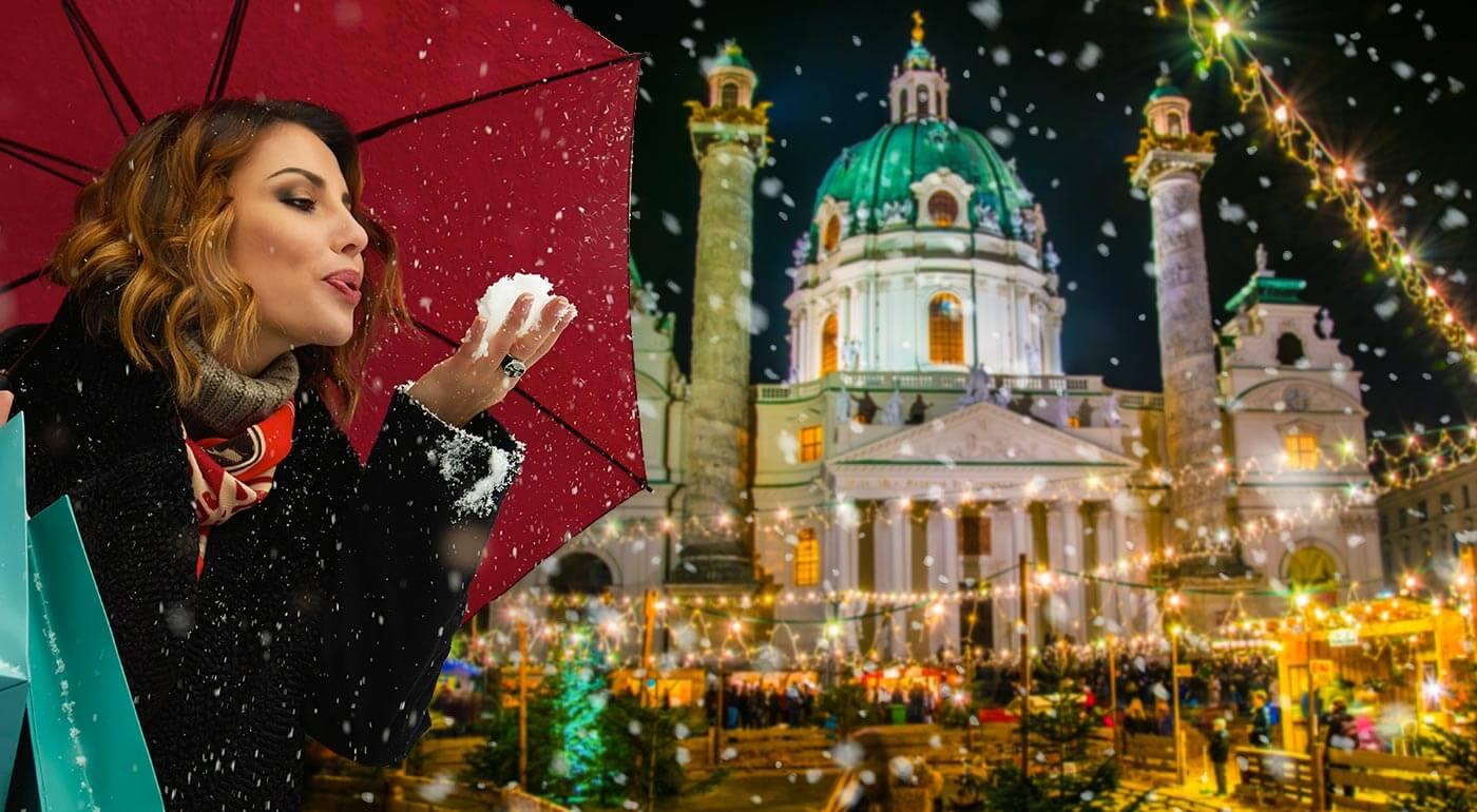1-dňový zájazd do Rakúska: adventné trhy vo Viedni a nákupy v Primarku
