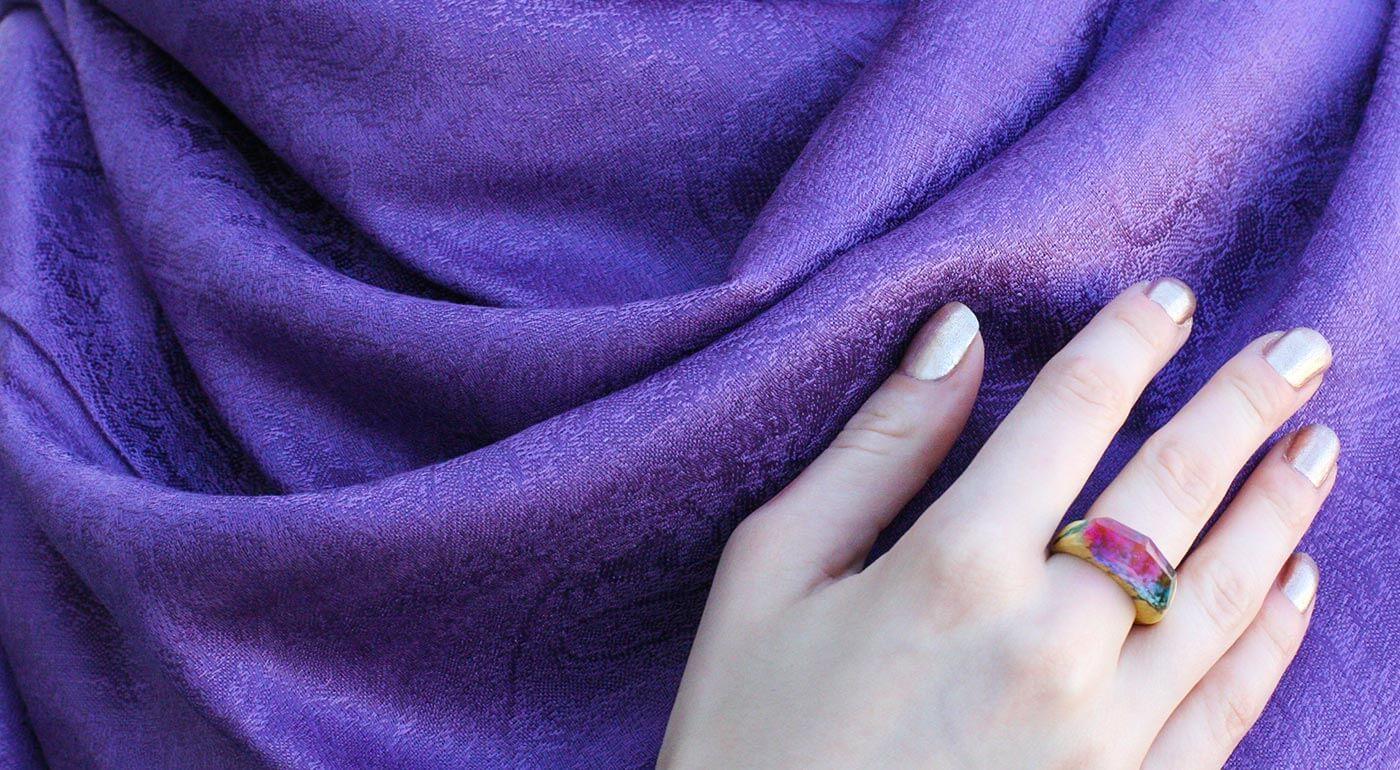 Dámska pašmína: kvalitný šál v nádherných farbách, ktorý sa hodí ku všetkému