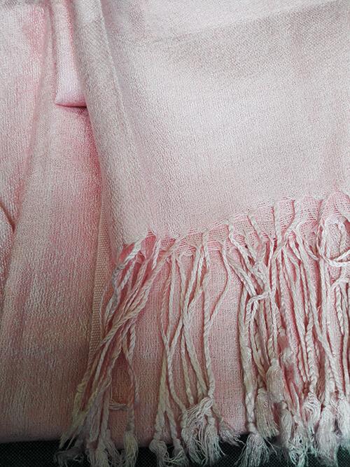 610fe00b318 Pašmína (kašmírový šál) - farba ružová