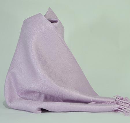 Pašmína (kašmírový šál) - farba orgovánová