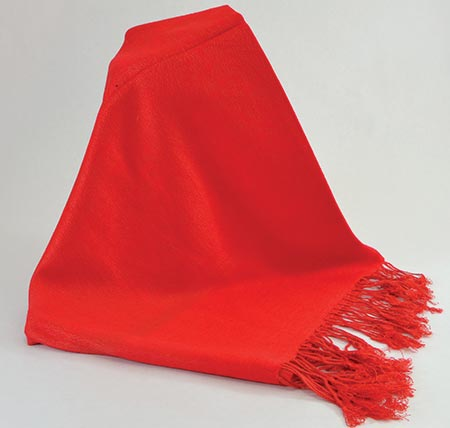 e545efb48aa Pašmína (kašmírový šál) - farba červená