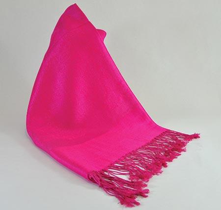 Pašmína (kašmírový šál) - farba cyklaménová